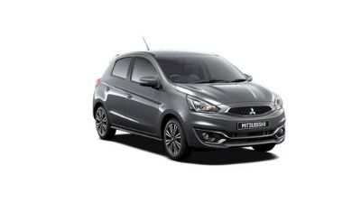 Mitsubishi Mirage Alantic Grey