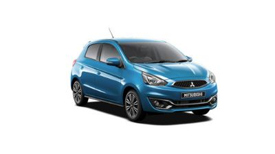 Mitsubishi Mirage Reef Blue